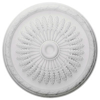 "36""OD x 1 1/2""P Juniper Ceiling Medallion"