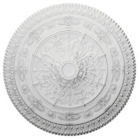 "37 1/2""OD x 3 3/8""P Naple Ceiling Medallion"