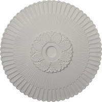 "36 1/4""OD x 4""ID x 1 7/8""P Melonie Ceiling Medallion (Fits Canopies up to 6 1/4"")"