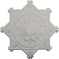 "38 1/4""OD x 1 1/2""P Antilles Ceiling Medallion"