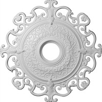 "38 3/8""OD x 6 5/8""ID Orleans Ceiling Medallion (Fits Canopies up to 8 1/4"")"
