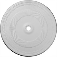 "51 1/8""OD x 3 5/8""ID x 1 1/2""P Nevio Ceiling Medallion (Fits Canopies up to 4 3/4"")"