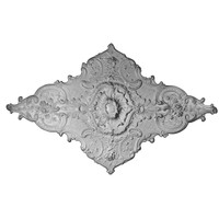"70 7/8""W x 43 3/4""H  Melchor Diamond Ceiling Medallion"