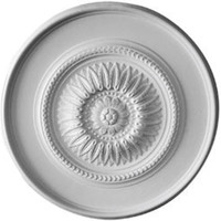 "41 1/8""OD x 2 1/2""P Large Floral Ceiling Medallion"