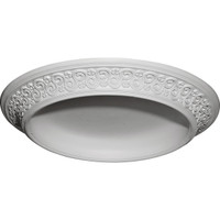 "34 1/2""OD x 25""ID x 3 1/2""D Bedford Surface Mount Ceiling Dome"