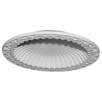 "39 3/8""OD x 31 1/8""ID x 4 1/8""D Milton Recessed Mount Ceiling Dome (33 1/2""Diameter x 4""D Rough Opening)"