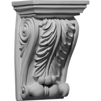 "6 1/8""W x 4 5/8""D x 9 1/2""H Chesterfield Corbel"