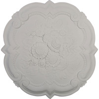 "24 3/8""OD x 1""P Victorian Ceiling Medallion"