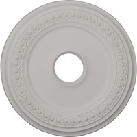 "18 5/8""OD x 4""ID x 1 1/8""P Classic Ceiling Medallion (Fits Canopies up to 5"")"