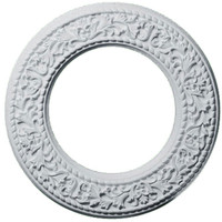 "13 3/8""OD x 7 1/2""ID x 3/4""P Blackthorn Ceiling Medallion"
