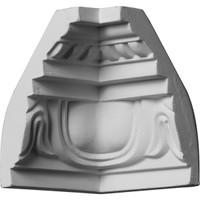 "3 1/4""P x 4 1/2""H Inside Corner for Moulding MLD04X03X05ED"