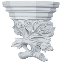 "16 1/8""W  x 17 3/4""H x 8 5/8""P Oak Leaf Wall Sconce"