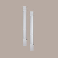 PIL11X90DP____PILASTER DOUBLE PANEL MLD PLTH 90X11X3-1/2
