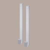 PIL5X120E____PILASTER FLUTED ECO ADJ PLTH 120X5-1/4X1-1/4