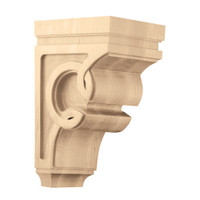 "CRV7014WO_9 1/2"" Medium Celtic Corbel White Oak"