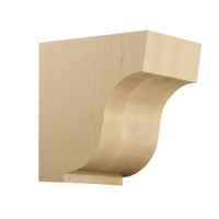 "CRV7046CH_7 1/2"" Medium Simplicity Corbel Cherry"