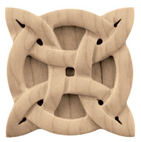 "CRV7064WO_2 3/4"" Sq Small Gaelic Tile White Oak"