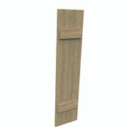 Fypon shutter___SH2PC12X61RS___SHUTTER 2 BOARD AND BATTEN12X61X1-1/2 ROUGH SAWN WOOD GRAIN