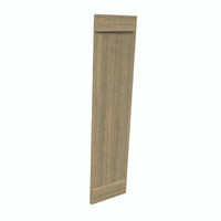 Fypon shutter___SH2PEBC12X55RS___SHUTTER 2 BOARD AND END BATTEN12X55X1-1/2 ROUGH SAWN WOOD GR