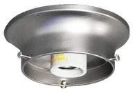"6"" Ceiling Fixture Brushed Nickel"