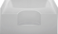 "48""X60"" Fiberglass Garden Tub White Mobile Home"