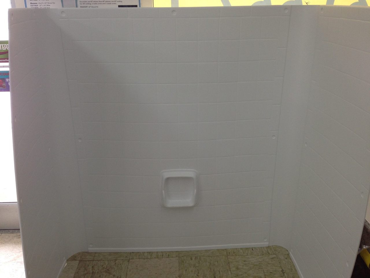 mobile home one piece surround white for 27x54 bath tub, mobile home