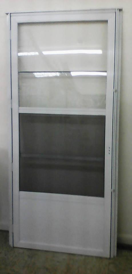 Mobile Home Door Size 32x76 Elixir Storm Door Conventional Style White Elixir Standard Storm Door