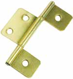Non-Mortise Hinges for Interior Mobile Home Door Brass