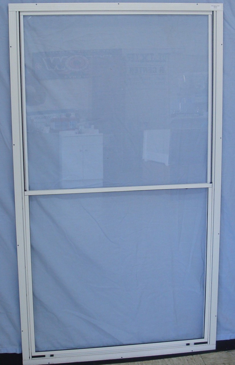 Kinro Series 5700 Self Storing Storm Window (White) on back porch for mobile home, dishwasher for mobile home, doorbell for mobile home, patio for mobile home, back door for mobile home, roof vent for mobile home, door frame for mobile home, screen doors for screen porches, lock door for mobile home, ladder for mobile home, interior door for mobile home, ramp for mobile home, shower for mobile home, spring door for mobile home, screen doors for patio doors, hitch for mobile home, fireplace for mobile home, deck for mobile home,