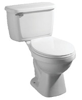 Toilet Complete Unit 1.6 GPF (White)