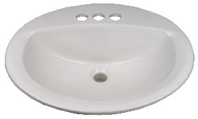 Mobile Home Lavatory China Sink 17