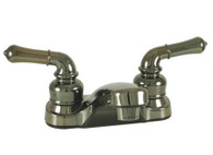 "4"" Mobile Home / RV Lavatory Faucet Chrome with Teapot Handles"