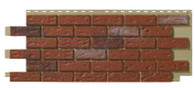 Novik Hand-Laid Old Red Blend Brick Pattern Skirting Panels