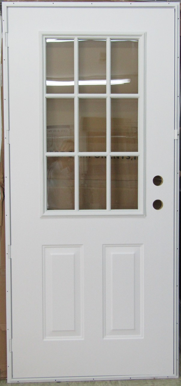 5500 Series Kinro Outswing Steel Entry Door 6 Panel Style