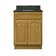 """Appalachian Oak Vanity - 24""""W X 18"""" D X 34.5"""" H  - 2 Door"""