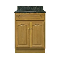 "Appalachian Oak Vanity - 24"" W X 21"" D X 34.5"" H  - 2 Door"