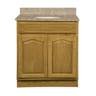 "Appalachian Oak Vanity - 30""W X 21"" D X 34.5"" H  - 2 Door"