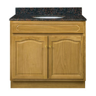 "Appalachian Oak Vanity - 36""W X 21"" D X 34.5"" H  - 2 Door"