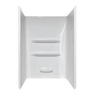"""36""""X36""""X69"""" Fiberglass Shower Surround Wall Elite - White"""