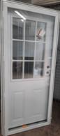 "T Series Elixir House Type Combination Door Cottage Window All Glass Storm Size 34""X76"""