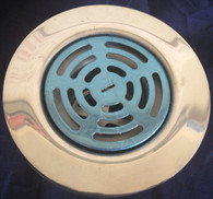 "Mobile Home Shower Drain 4 1/4"" Flat Strainer"