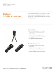 Enphase Q-CLIP-100 Rail Mount Cable Management Clip