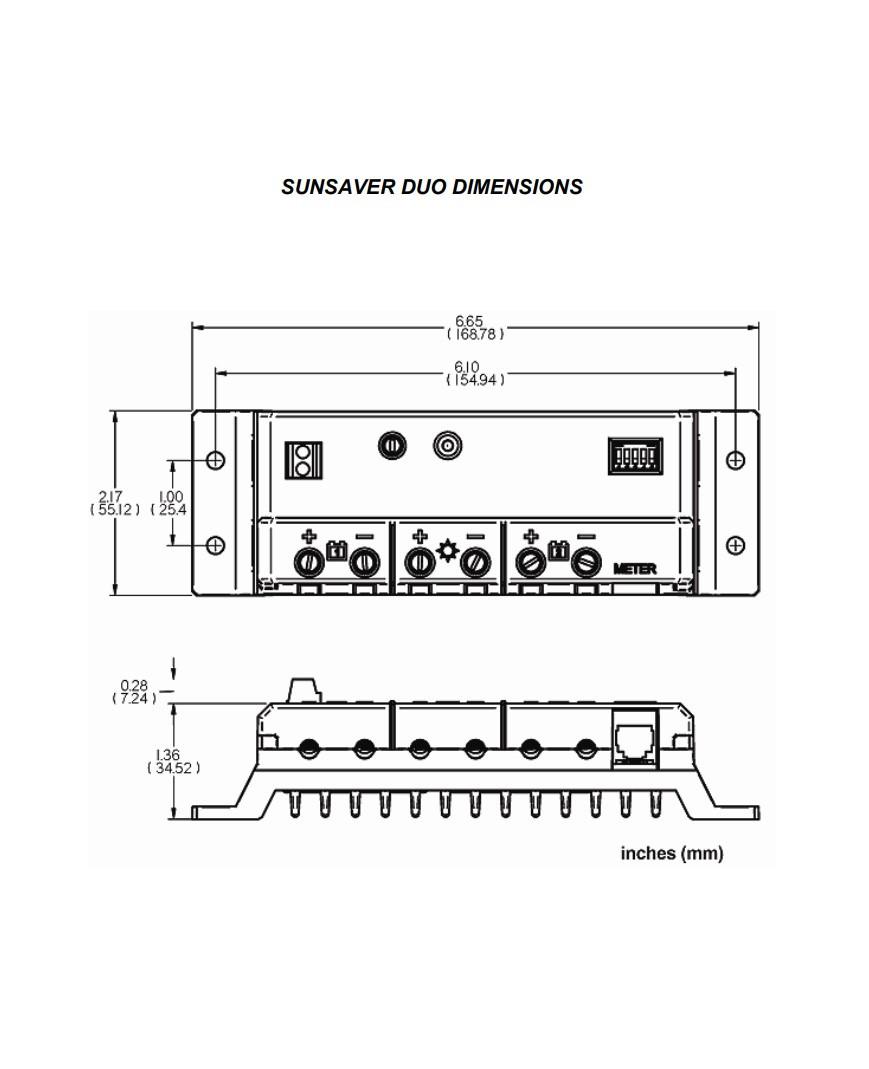 Morningstar SSD-25RM Sunsaver-Duo 25 Amp