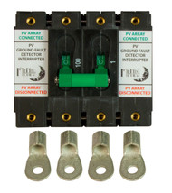 MidNite Solar MNDC-GFP100RT-2P Ground Fault Circuit Breaker 100A