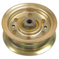 Flat Idler Pulley for John Deere 105, 115, 145, 155C, X, LA, L Series, AM135773