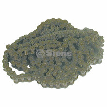 Roller Chain # 40, Length 10 Feet, Stiga 9589000802, 9589001003, 9589-0008-02, 9589-0010-03, Go Kart Cart