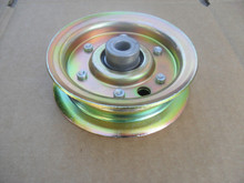 """Deck Idler Pulley for AYP, Craftsman 104360X, 131494, 173438, 532173438, 42"""" to 44"""" Cut, Made In USA"""