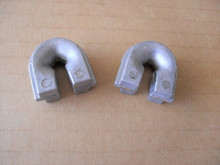 2 String Trimmer Head Eyelets for Echo X475000050, 2882007340 eyelete