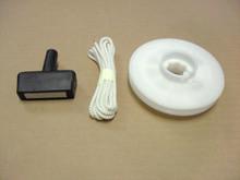 Starter Pulley with Rope Kit for John Deere 2 HP thru 4 HP, PT11016