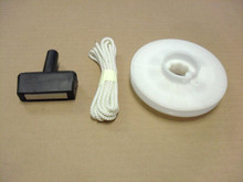 Starter Pulley With Rope Kit for Briggs and Stratton, Mclane 2 HP to 4 HP 280117, 280439, 280469, 280439S